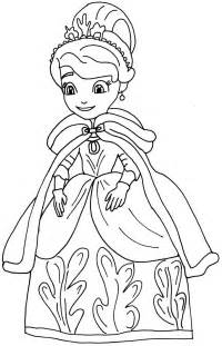 sofia the coloring page sofia the coloring pages winters gift sofia the