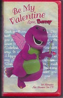 barney be my lot 28 barney vhs no repeats instant collection htf