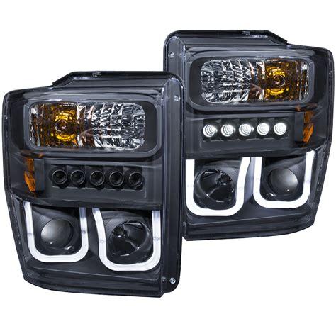 anzo usa ford f 250 350 450 550 superduty 08 10