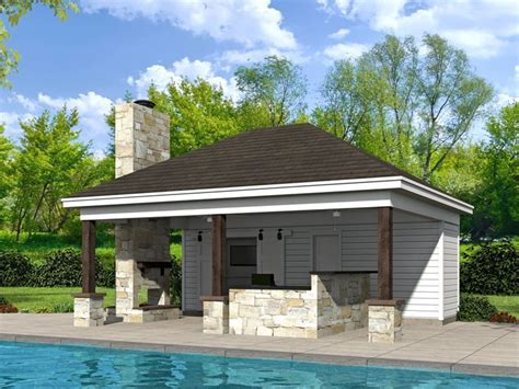 Pool House Plans With Bar by 51 Best Pool House Plans Images On Houses With