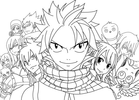 photos bild galeria fairy tail coloring pages