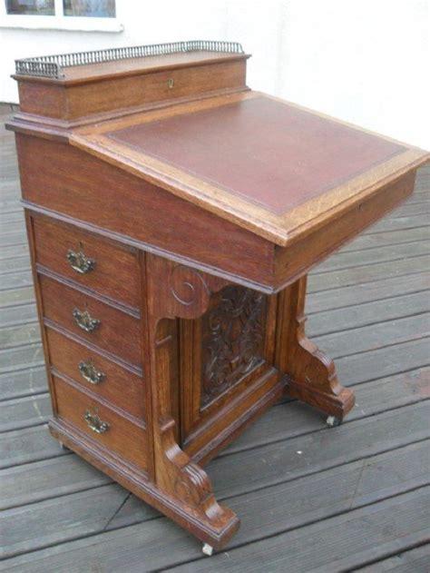 Davenport Desk For Sale by Carved Oak Davenport Desk 105451