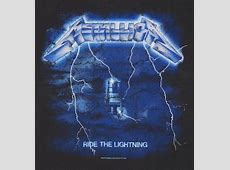 Official Men's Charcoal Metallica Ride The Lightning T ... Metallica Ride The Lightning Tour