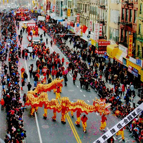 new year parade with chinatown lunar new year parade events city of new york