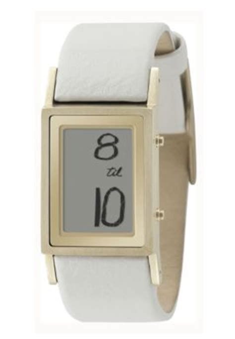 Frank Gehry Designed Fossil by Trend Alert Whitewash Watches Popsugar Fashion