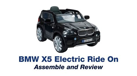 bmw x5 electric car bmw x5 electric car ride on review and assemble