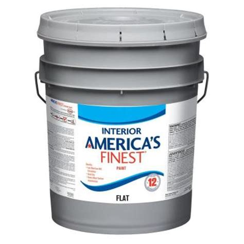 home depot 5 gallon interior paint finest 5 gallon flat interior paint af1200n 05 on popscreen