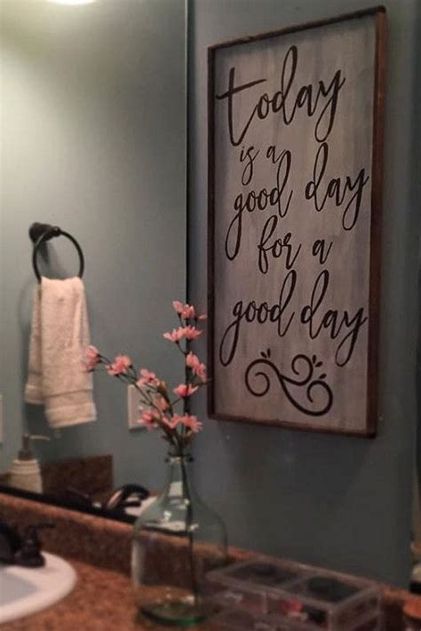 bathroom decor signs best 25 bathroom wall decor ideas on pinterest half