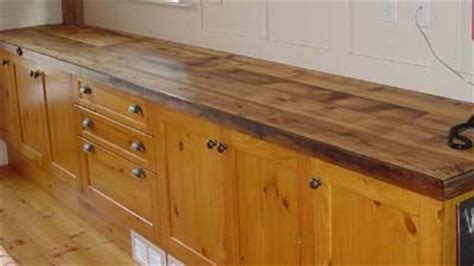 Barn Wood Countertops by Barn Wood Countertop Cabin Rustic Decor
