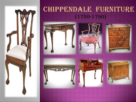 furniture styles timeline furniture styles development timeline