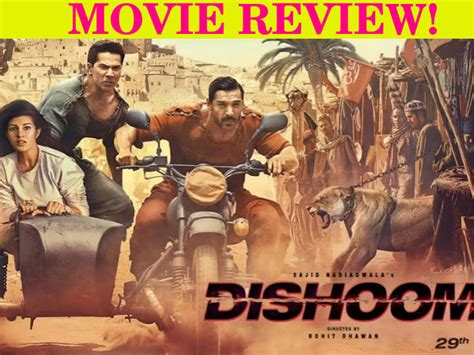 film action rating tinggi dishoom movie review a potpourri of cliched drama