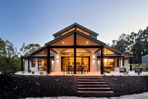 beautiful modern house in australia adorned with authentic