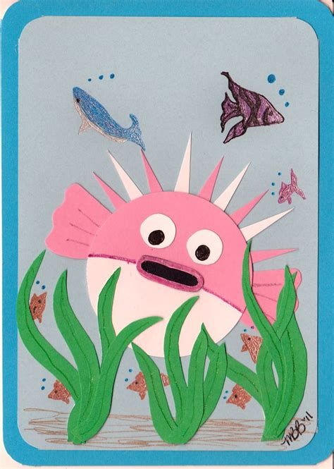 puffer fish craft pinterest discover and save creative ideas