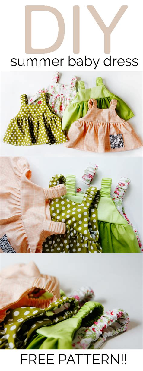 simple ideas for summer baby easy baby dress pattern for the summertime see kate sew