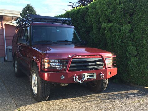 land rover discovery 2 rear bumper for sale tactical rovers bumper with winch land rover forums