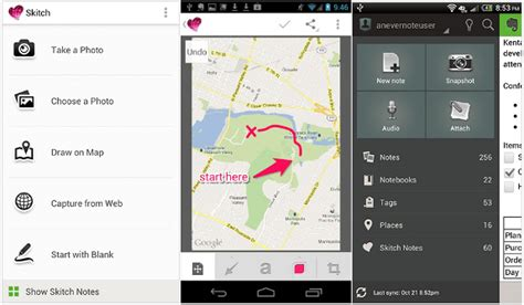 skitch for android skitch v2 0 for android brings new ui tools and powerful evernote integration