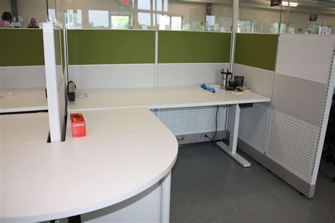 powered by desk com powered height adjustable desk by open plan systems