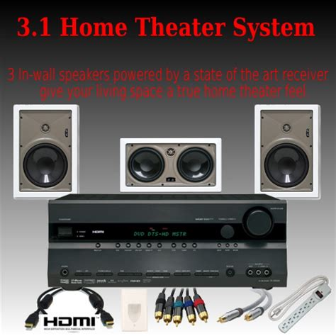 3 1 deluxe home theater system