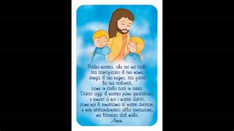 testo padre nostro padre nostro