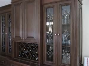 Leaded Glass Kitchen Cabinet Doors Handmade Leaded Glass Inserts For Cabinets By Glassworks
