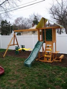 big backyard windale playset from toys r us installed in
