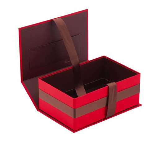 Folded Ribbon Box Size 17 X 17 X 17 Cm 2 Pcs matt lamination big folding gift box with ribbon buy folding gift box gift box folding gift