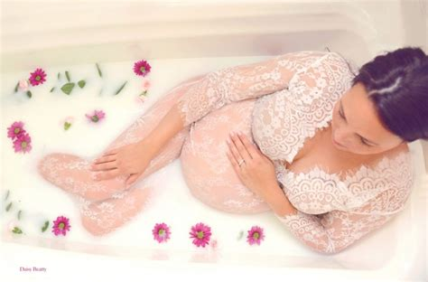 New Milk Bath Treatment Exfoliates Renews by Milk Bath Maternity Photography Nyc By Beatty