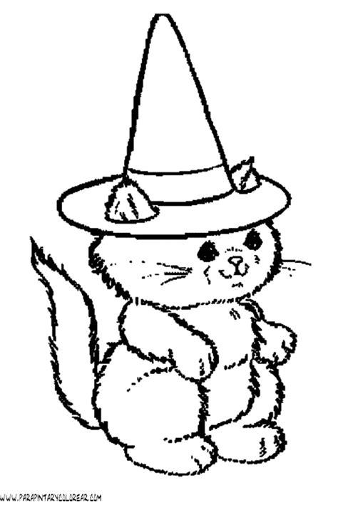 imagenes de halloween para colorear image gallery hallowen gato dibujos