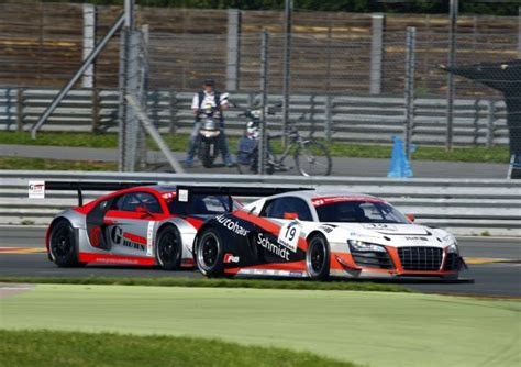 Audi Schmidt Sachsenring by Two Audi Drivers On Podium In The Stt Automobilsport