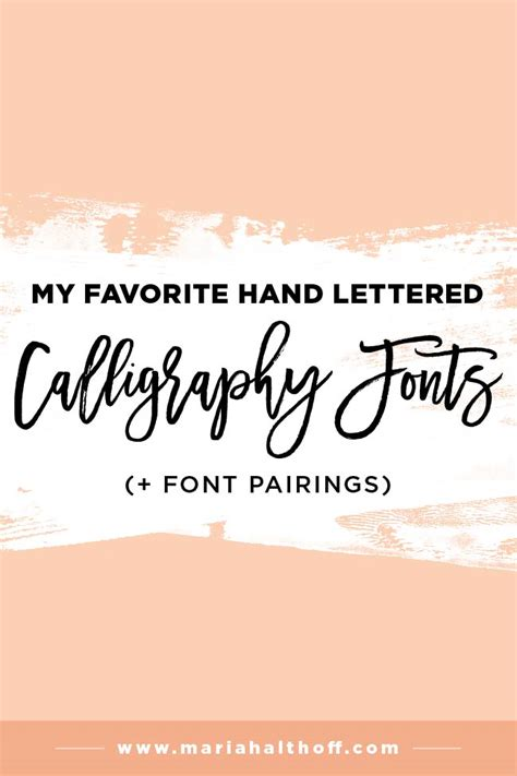 my favorite free fonts take 2 discover best ideas my top 5 favorite hand lettered calligraphy fonts font