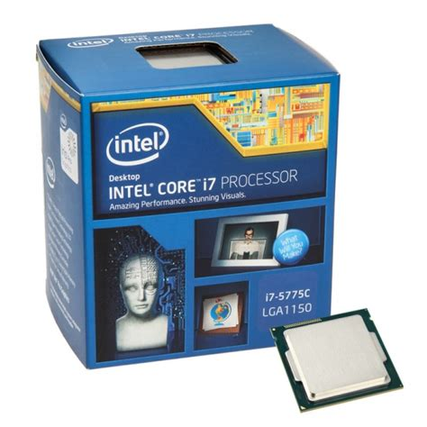 Intel I7 Sockel by Intel I7 5775c 3 3 Ghz Broadwell Sockel 1150 Boxed Hpit 208 From Wcuk