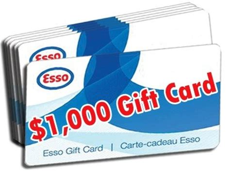 Gas Gift Cards Canada - www customersurvey toyota ca win a 1 000 or 500 esso gas gift card from toyota