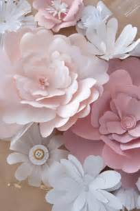 paper flower the little canopy artsy weddings indie weddings