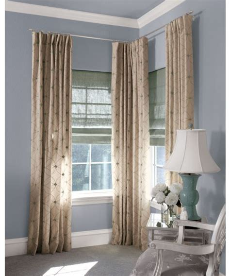 corner window curtain pole pin by miss mia on decor galore pinterest