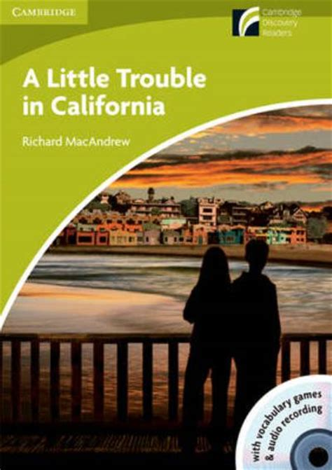 libro a little trouble in a little trouble in california book with cd rom audio richard macandrew comprar libro en fnac es