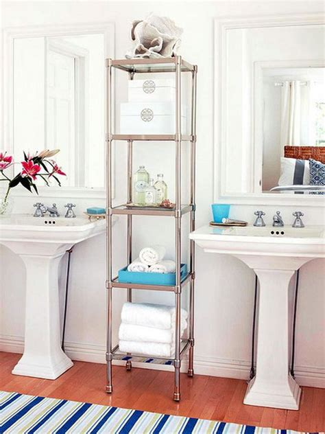 Bathroom Towel Storage Units Towels Storage 24 Ideas To Spruce Up Your Bathroom