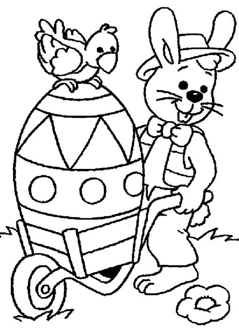 free coloring pages easter coloring pages to print