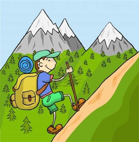 clipart montagna hiking top of mountain clipart clipart suggest
