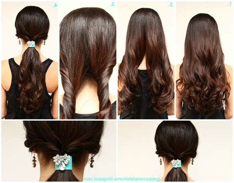 Easy Hairstyles For School To Do On Yourself by Easy Hairstyles 02 Indian Makeup And