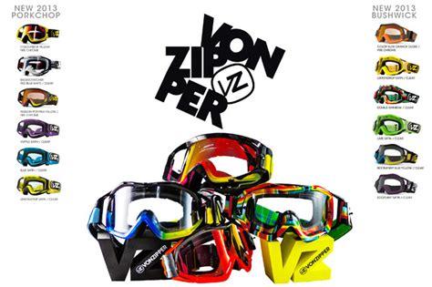 von zipper motocross vonzipper releases 2013 porkchop and bushwick goggles