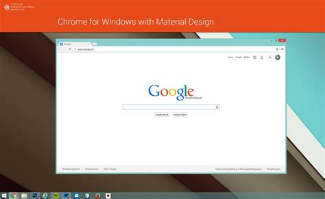home design chrome app chrome browser for windows with material design by