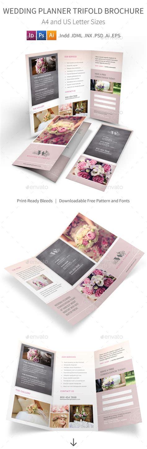 Wedding Planner Brochure by Wedding Planner Trifold Brochure By Mike Pantone