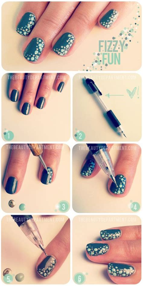 nail art tutorial easy no tools 25 fun and easy nail art tutorials style motivation