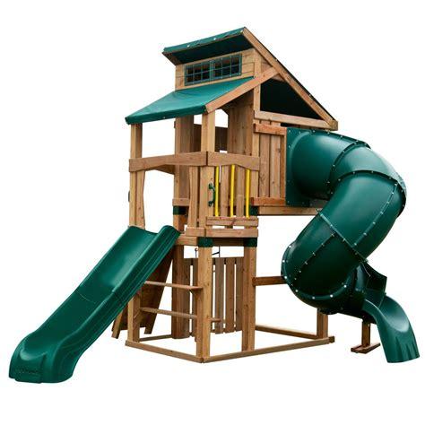 swing n slide swing n slide playsets hideaway clubhouse deluxe playset