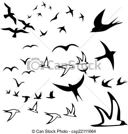imagenes de dibujos libres faciles stock de ilustracion de libertad pajaros volar p 225 jaro