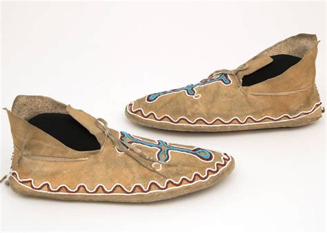beaded moccasins for sale antique american beaded moccasins kiowa plains