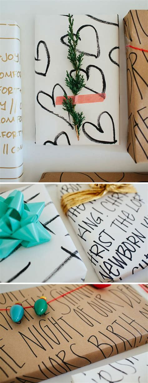 Make Your Own Wrapping Paper - inspirational wrapping paper wrapping papers