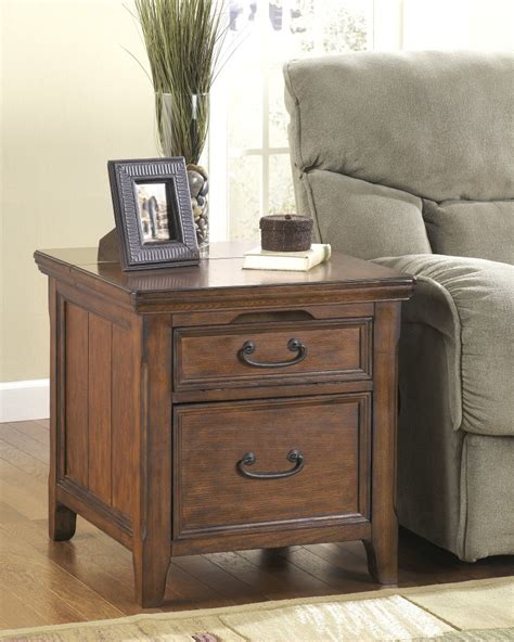 ashley accent tables t478 17 ashley furniture woodboro media end table