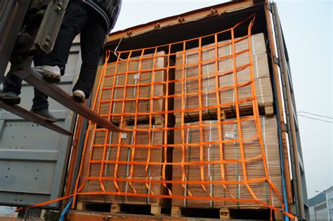 Fall Protection Strapping Band cargo net transport and protective packaging solution
