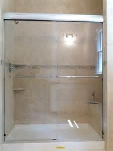 custom sliding glass shower doors shower doors with headrail showerman on